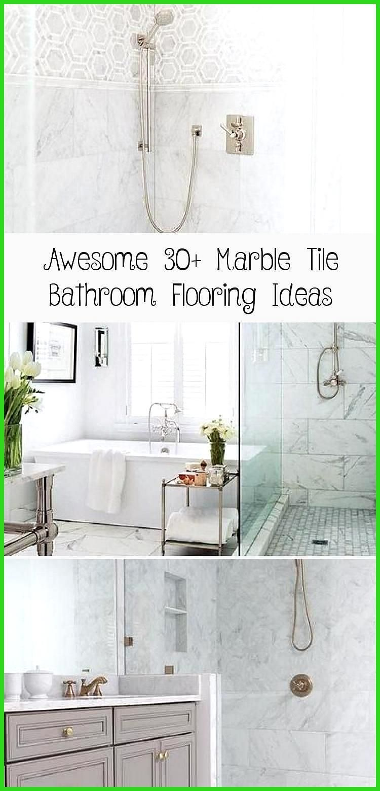 Awesome 30 Marble Tile Bathroom Flooring Ideas Laminate