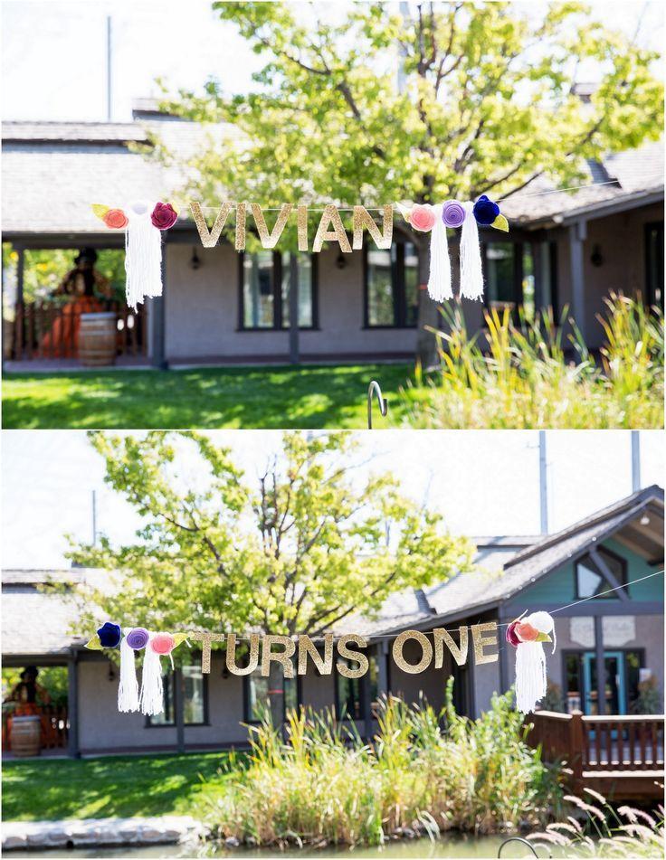 Vivian\'s Garden 1st Birthday Party