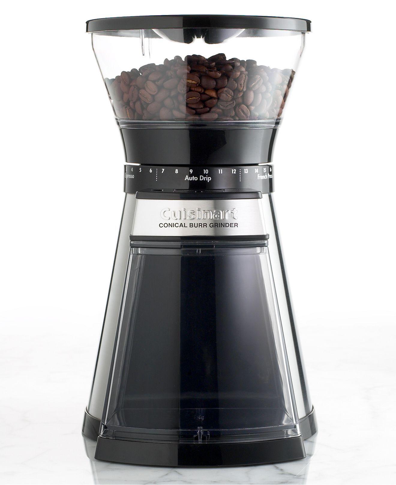 Cuisinart cbm18 conical burr programmable coffee grinder