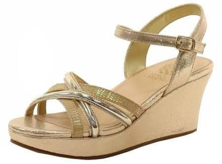 Ross Shoes For Girls High Heels Kids Gold Wedges Wedge Sandals Shoes