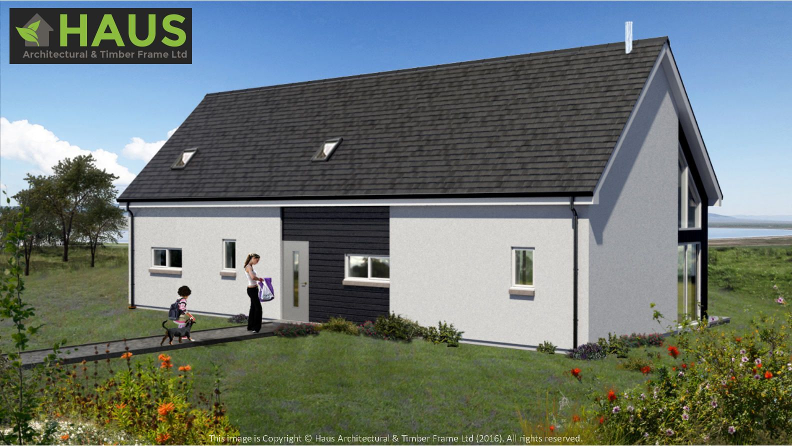 Berneray House Type By HAUS Architectural U0026 Timber Frame Ltd. Self Build,  Kit Supply
