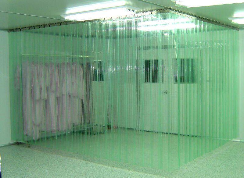 Cleanroom Pvc Curtain Strip Curtains Plastic Curtains Curtain