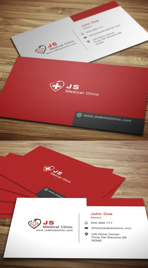 Medical Business Card #businesscards #visitingcards #printready ...