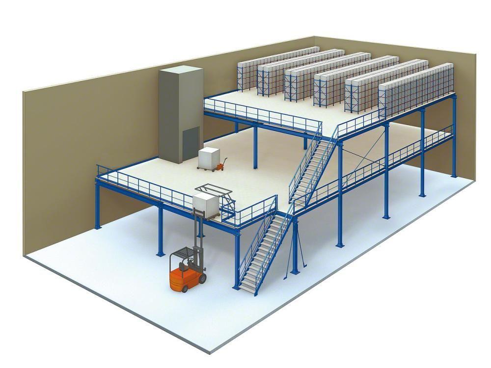 Our Mezzanine Racking Systems Are Free Standing And Easy To Install A mezzanine racking system can h... - #install #mezzanine #racking #standing #systems - #mezzanineestructura