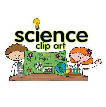 science clip art set school classroom clipart and science tools rh pinterest com
