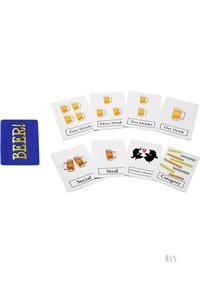 Beer!! The Card Game - The hilarious game where you assign drinks, steal from each other, have blackouts, and even and occasional drunken hookup. Only $3.99 @ http://www.sexylovestuff.com/details/96157/beer!!-the-card-game(individual)
