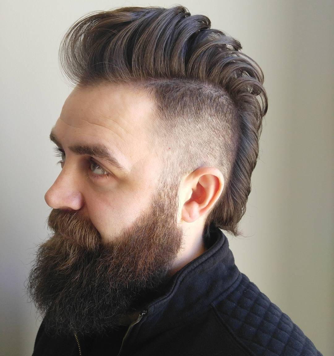 Mohawk fade coupes de cheveux pinterest mohawks