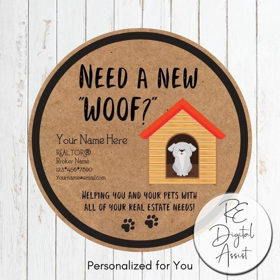 Real Estate Dog Treat Pop By Event Printable Tag Pet Friendly Etsy Realtor Marketing Real Estate Gifts Real Estate Advertising