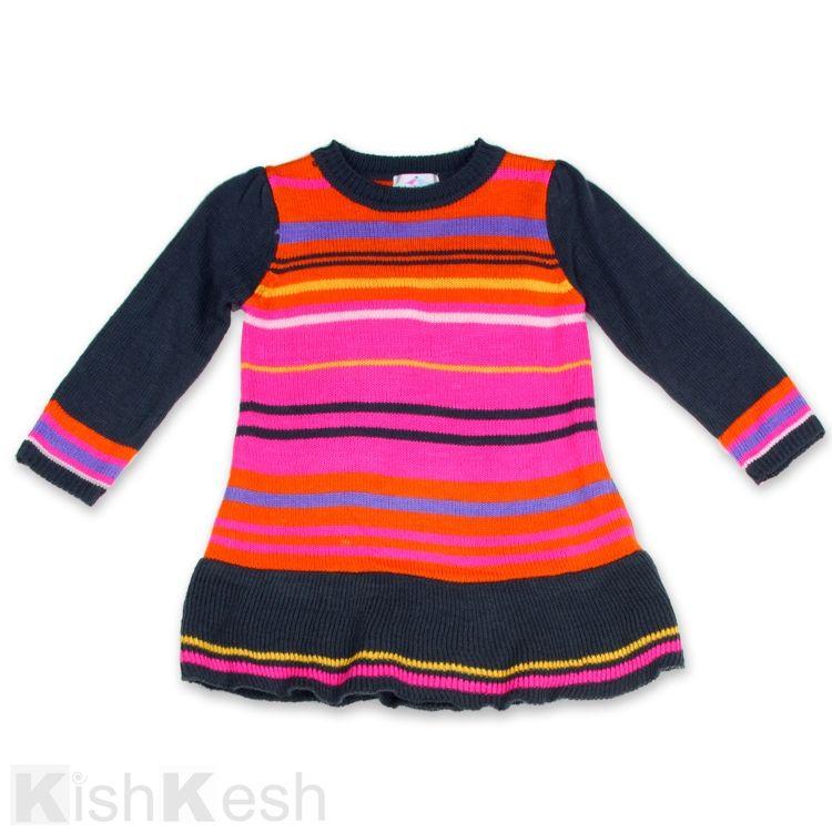LilyBird Girls Knit Dress #Fashion #LittleGirlsDresses #Baby