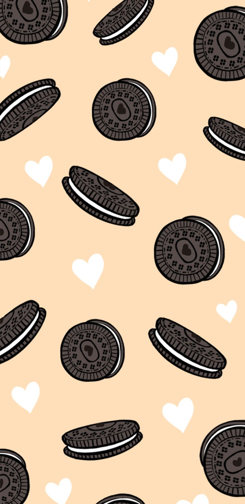 A Cookie A Day Keeps The Doctor Away Wallpaper Iphone Cute Pastel Color Wallpaper Screen Savers