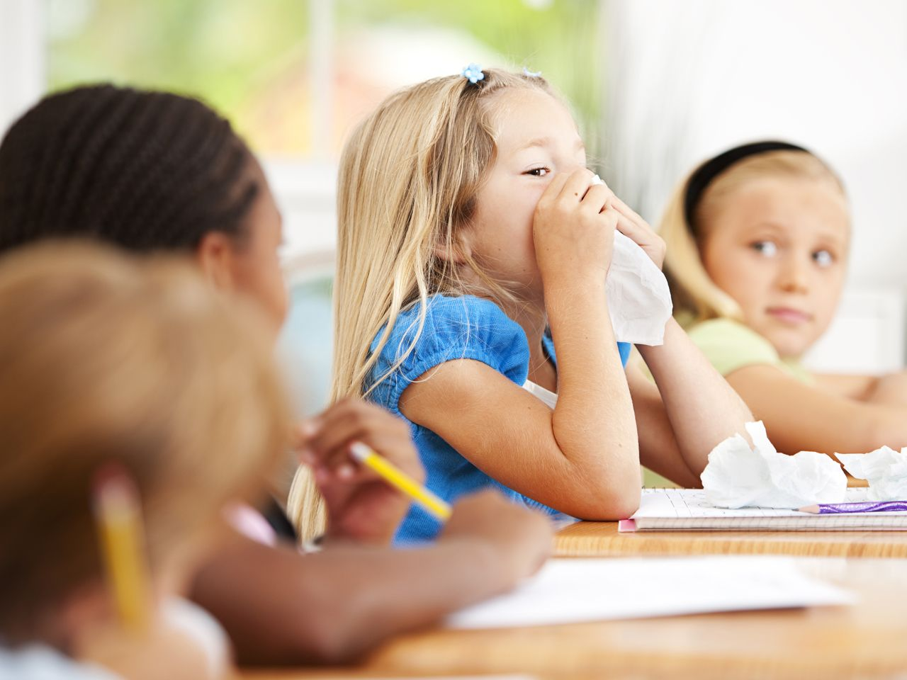 Schools rethink perfect attendance awards in bad flu season (Getty Images stock)