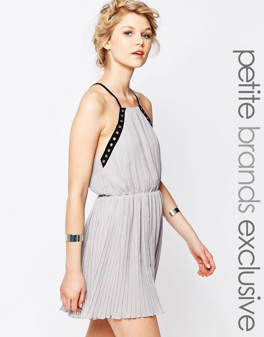 Compra Vestido informal de mujer color gris de True decadence petite al  mejor precio. Compara precios de vestidos de tiendas online como Asos -  Wossel ...