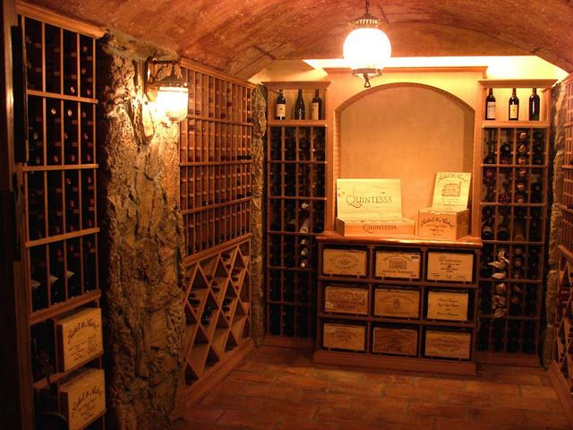 have to have a vintage wine room in the basement!