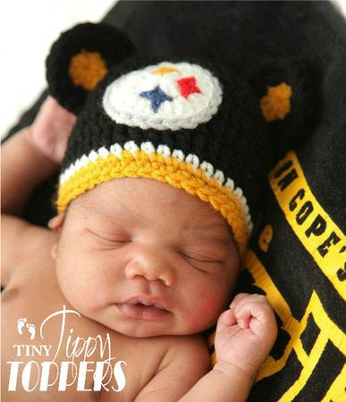 free pattern for steelers crochet emblem  23d9edd0a