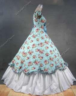 Civil War Ball Gown Patterns   Southern Belle Civil War Cotton Flax Gown Dress 273 M #dressesfromthesouthernbelleera