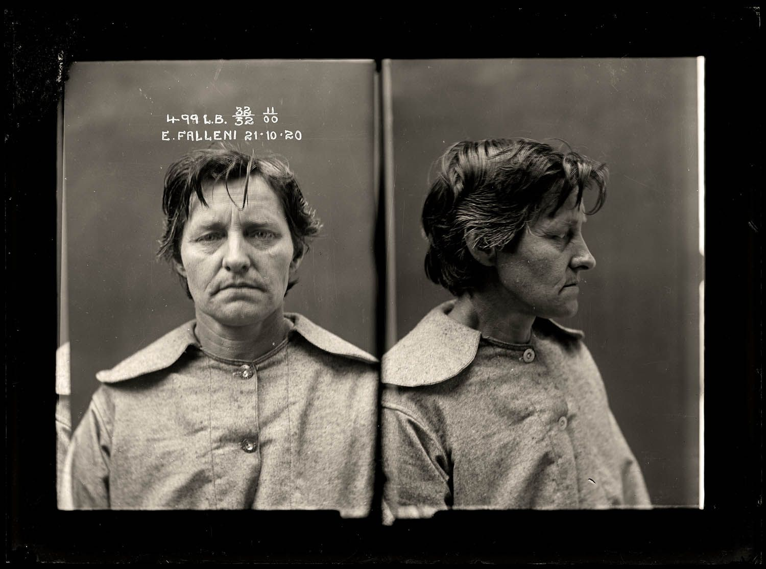 The vintage mugshots of shoplifters bank robbers and murderers from - Eugenia Falleni Was An Australian Woman Who In 1920 Was Charged With The Murder Of Her Wife She Lived For 22 Years As Harry Crawford Convincing 2 Wives