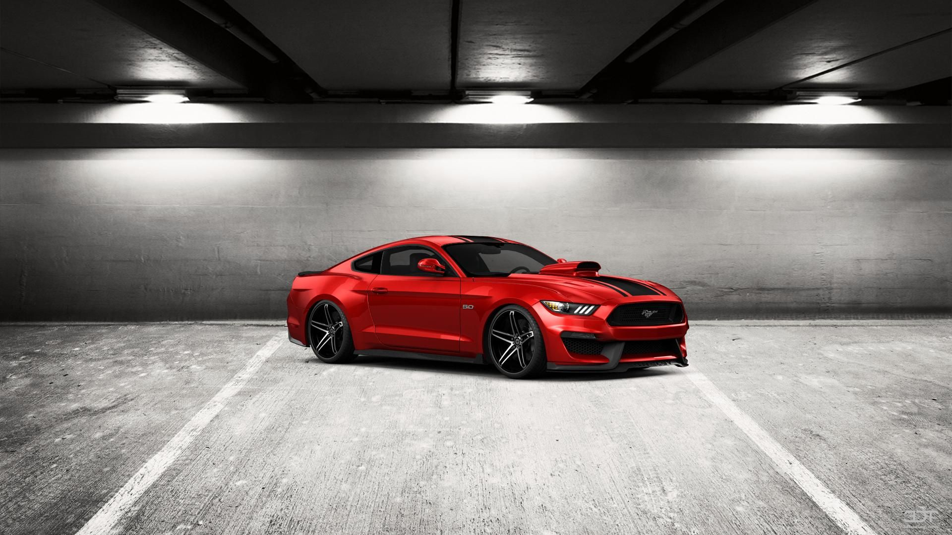 Come ti sembra il mio tuning #Mustang #GT 2015 in 3DTuning #3dtuning #tuning