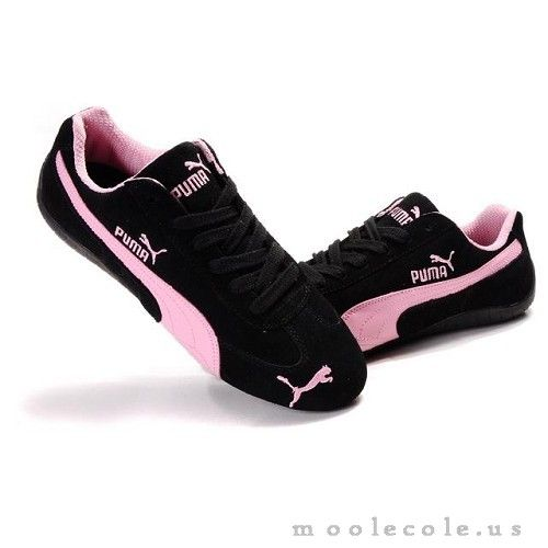 84d87bcd3cac22 Shop Women s Puma Speed Cat SD US In Black-Pink