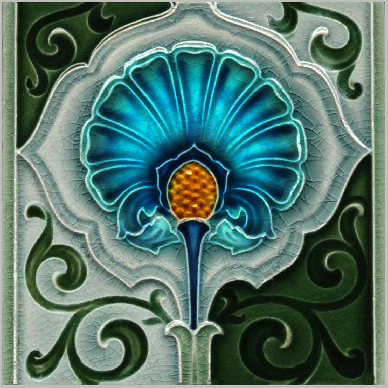 Art nouveau tile bits bobs pinterest art nouveau tiles art nouveau tile dailygadgetfo Choice Image