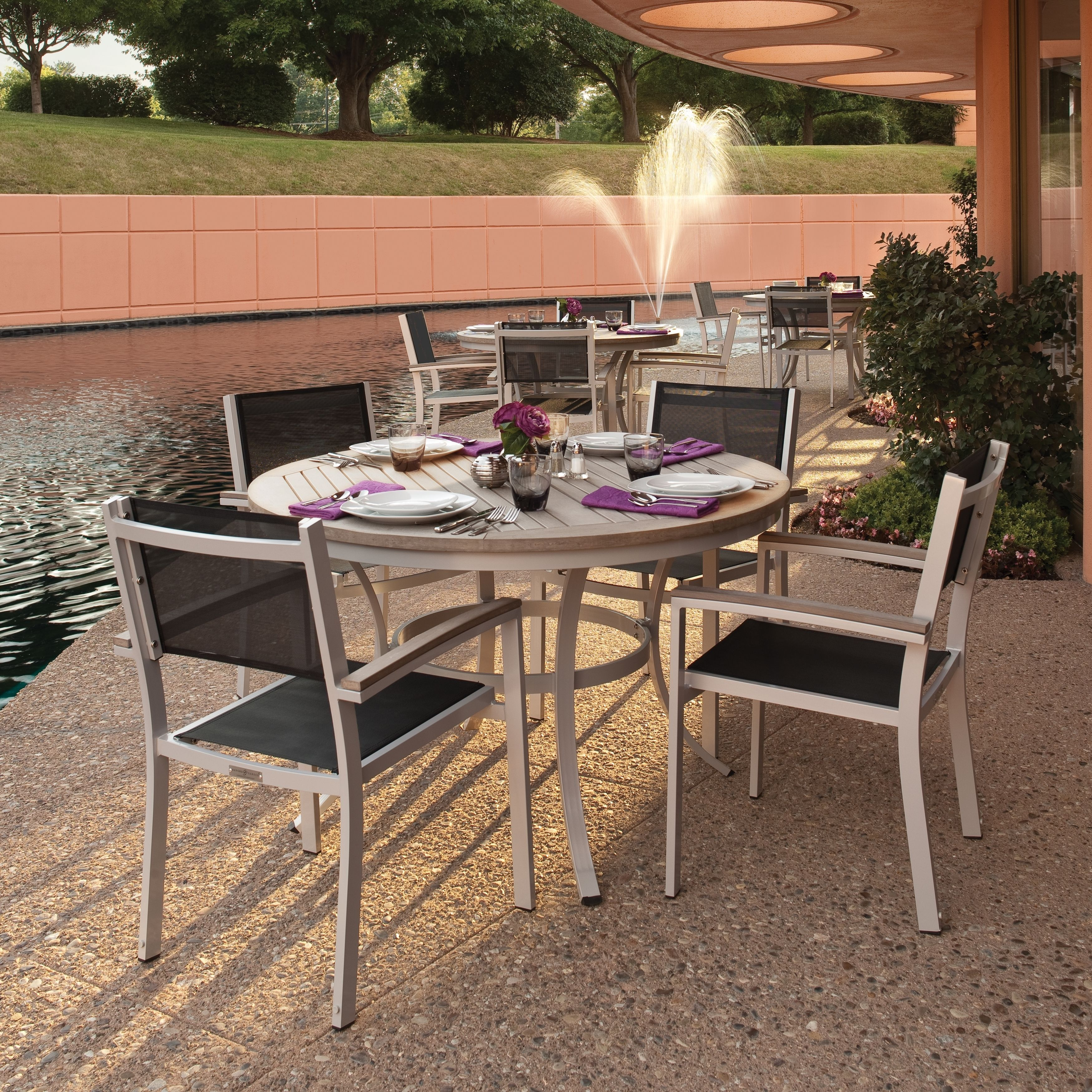 35+ Fully assembled patio dining sets Various Types