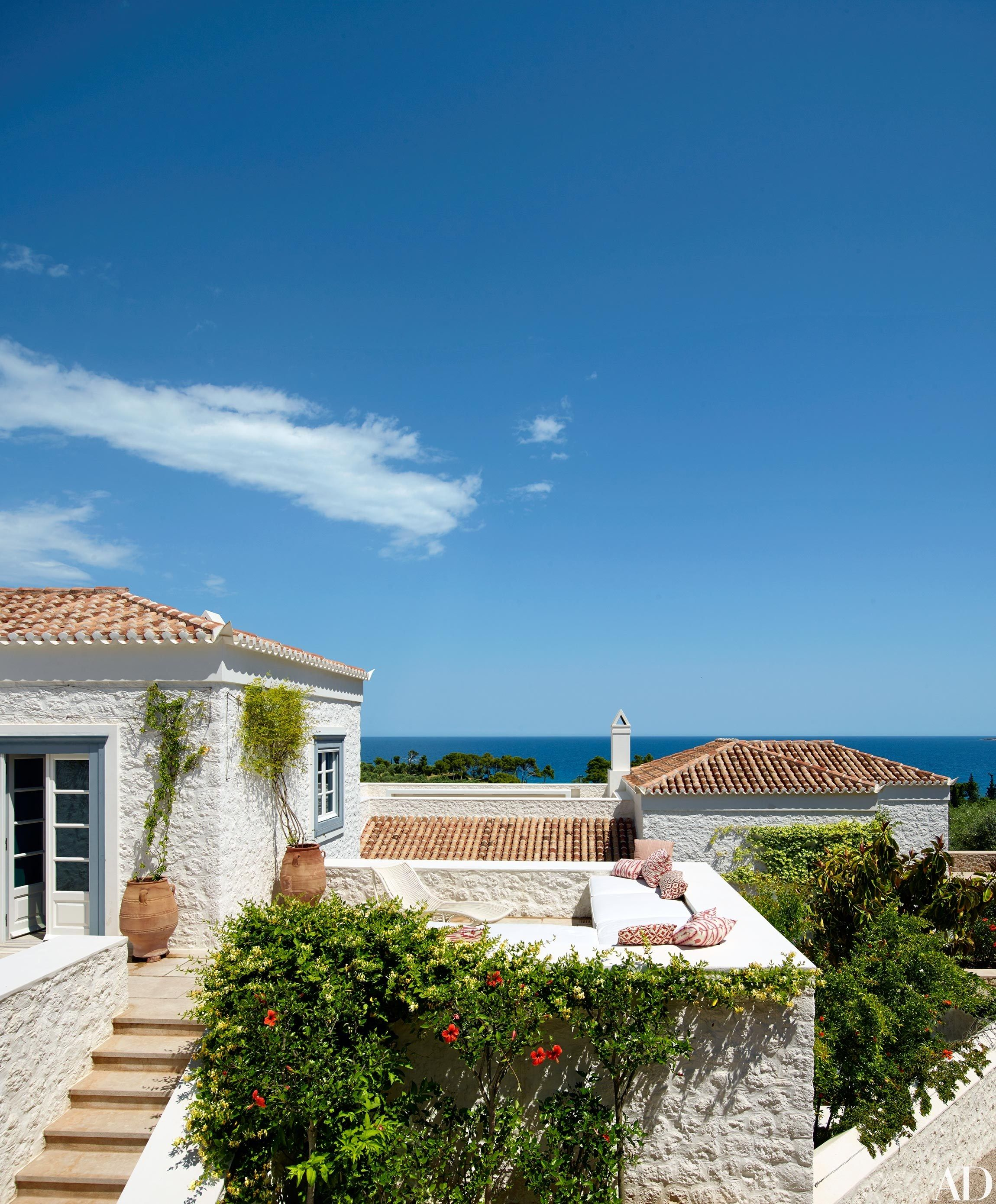 A Compound Of Villas In The Greek Islands Is Transformed