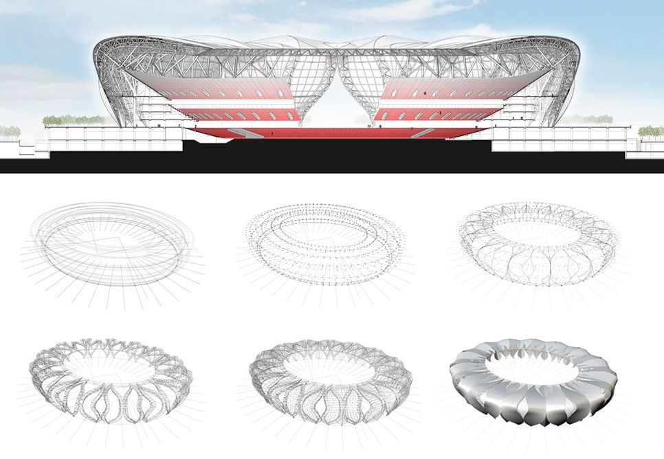 Hangzhou Olympic Sports Center NBBJ Referncias Para