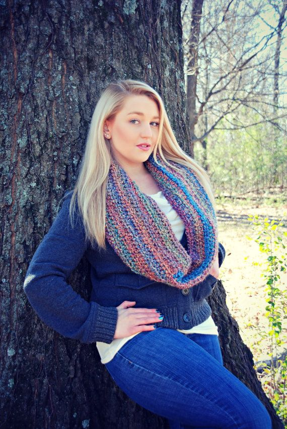 Warm and Fuzzy Cowl Crochet Pattern by RebeccaAnnCreations on Etsy, $5.00
