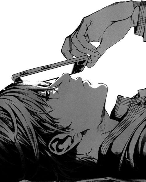 Image Via We Heart It Alone Anime Art Beautiful Blackandwhite Boy Couple Cute Dibujo Draw Dream Guy Hot Illustration Kawaii Love Manga