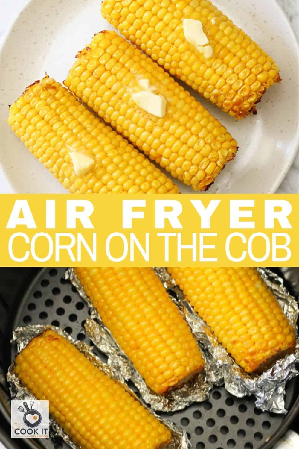 Air Fryer Corn on the Cob is a delicious side dish or