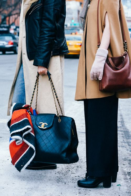 Street looks à la Fashion Week automne-hiver 2015-2016 de New York