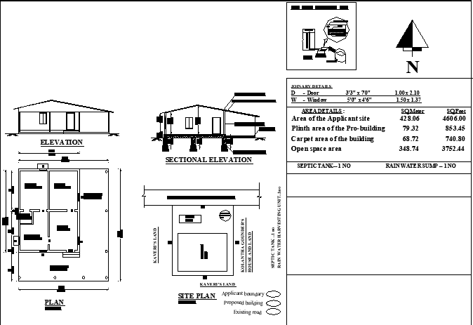 Residence Project Presented With Working Drawing Detail Download This 2d Autocad Drawing File Cadbull In 2020 Autocad Drawing Working Drawing Autocad