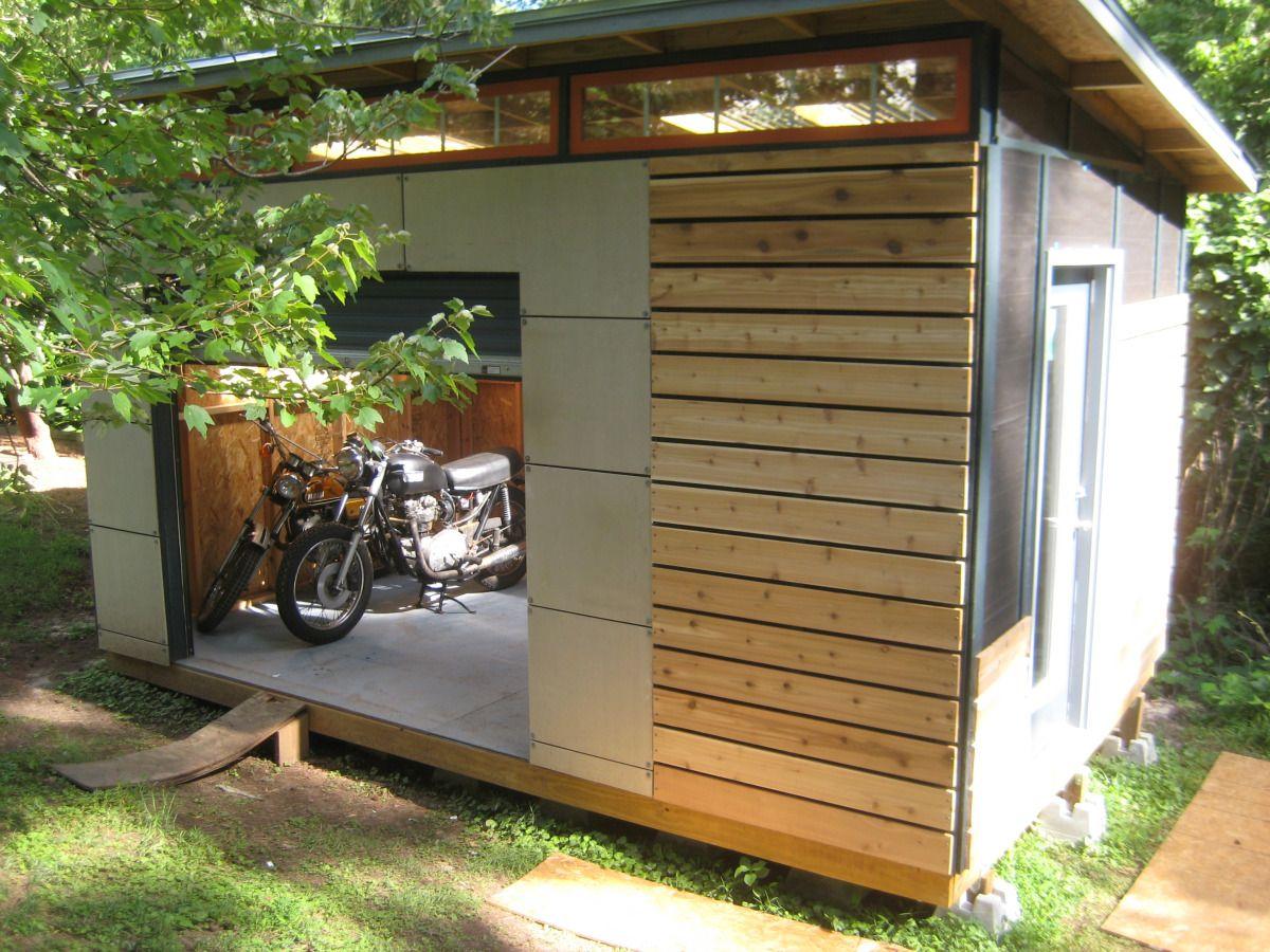 Diy modern shed project backyard sheds modern shed