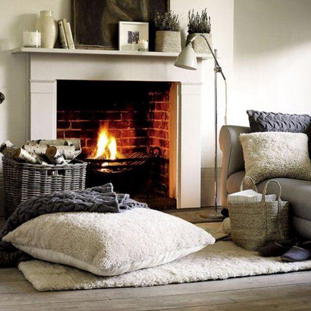 Elements Of A Cozy Home Deco Maison Manteau De Cheminee Home