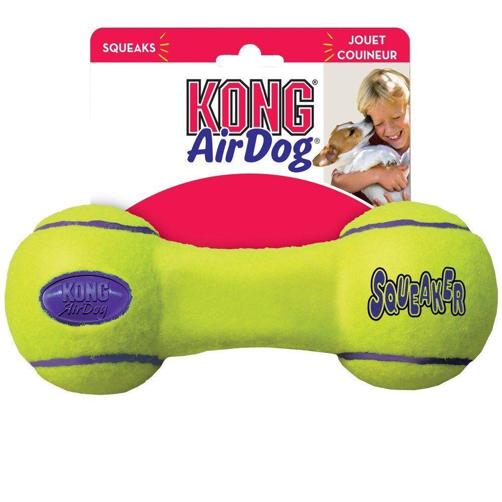 Air kong squeaker dumbell medium unbelievable dog