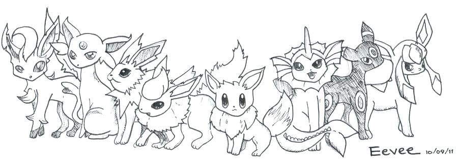 Sturdy Pokemon Coloring Pages Eevee Evolutions All Page Mega Cute Pokemon Coloring Pages All Eeve Pokemon Coloring Pages Pokemon Coloring Love Coloring Pages