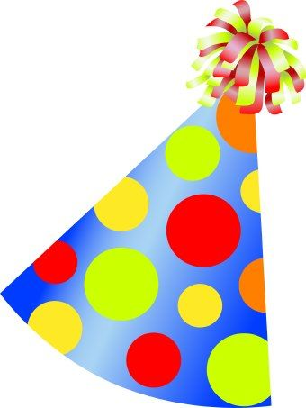 Birthday Party Hat Clip Art Birthday Clips Clip Art Birthday Hat Png