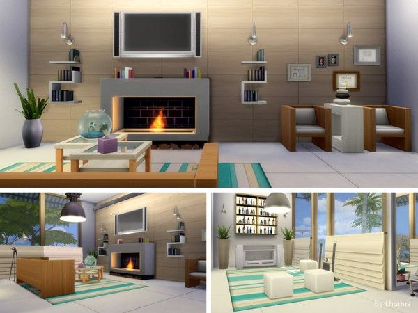 The Sims Resource Beach Life house by Lhonna u2022 Sims 4 Downloads - sims 3 wohnzimmer modern