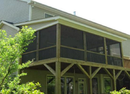 Cost Of Screened Porch Add Build Additions Raleigh Cary Durham Nc