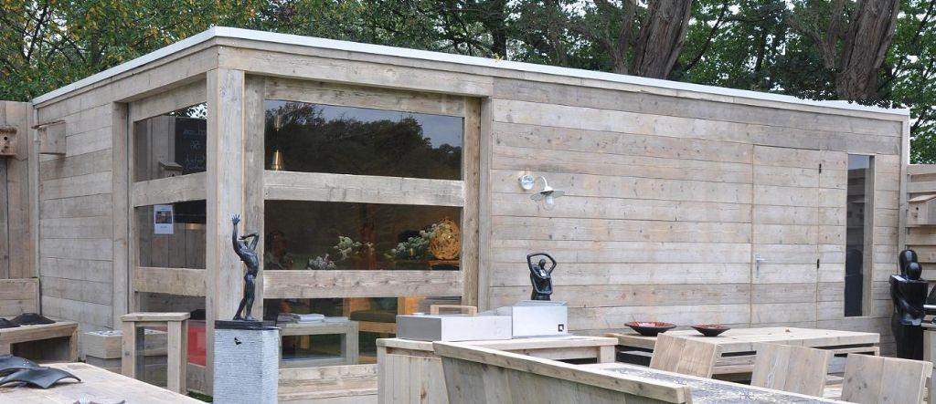 Tuinhuis beervelde 2011 tuinhuizen prieelen afsluitingen tuinmeubelen en - Modern prieel aluminium ...