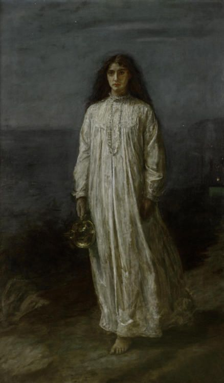 The Somnambulist by John Everett Millais (1871)  Art Experience NYC  www.artexperiencenyc.com