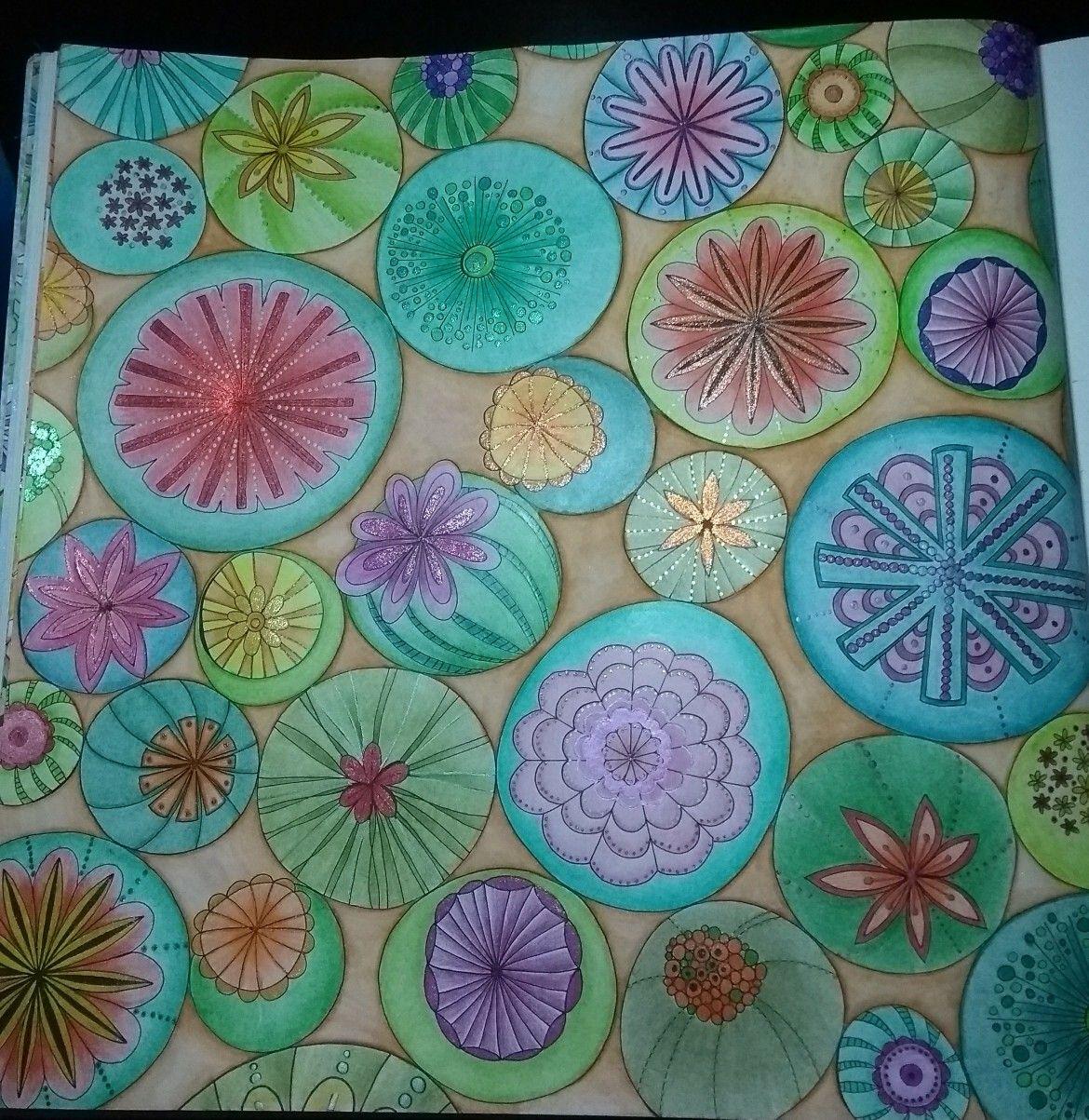 Joyous Blooms To Color Eleri Fowler