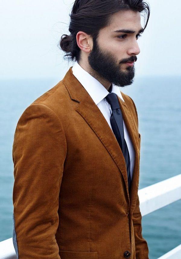 45+ Man bun and beard inspirations