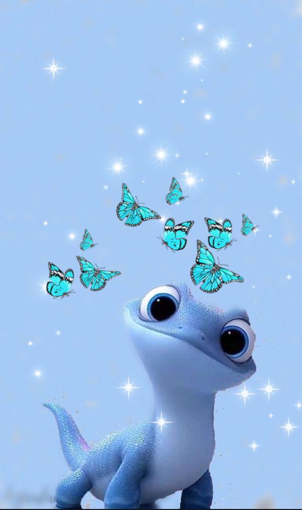 Lizard Frozen 2 : lizard, frozen, Bruni, Ideas, Frozen, Wallpaper,, Disney, Wallpaper