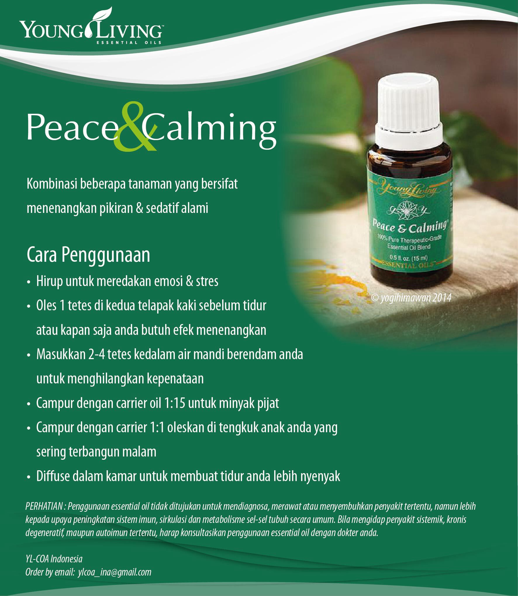katalogEO Everyday oils kit Peace and Calming Young