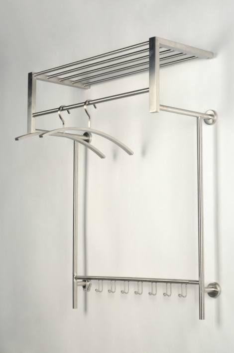 garderobe 10800 modern metall stahl rostbestaendig. Black Bedroom Furniture Sets. Home Design Ideas