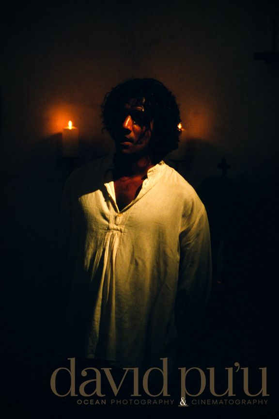 "Naveen Andrews. In a film pre ""Lost"" that I was doing production stills for."