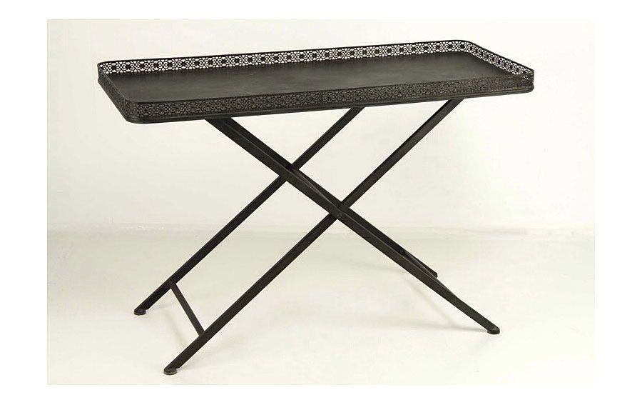 Mesa de tijera calada metal   Material: Metal   Material: ... Eur:178 / $236.74