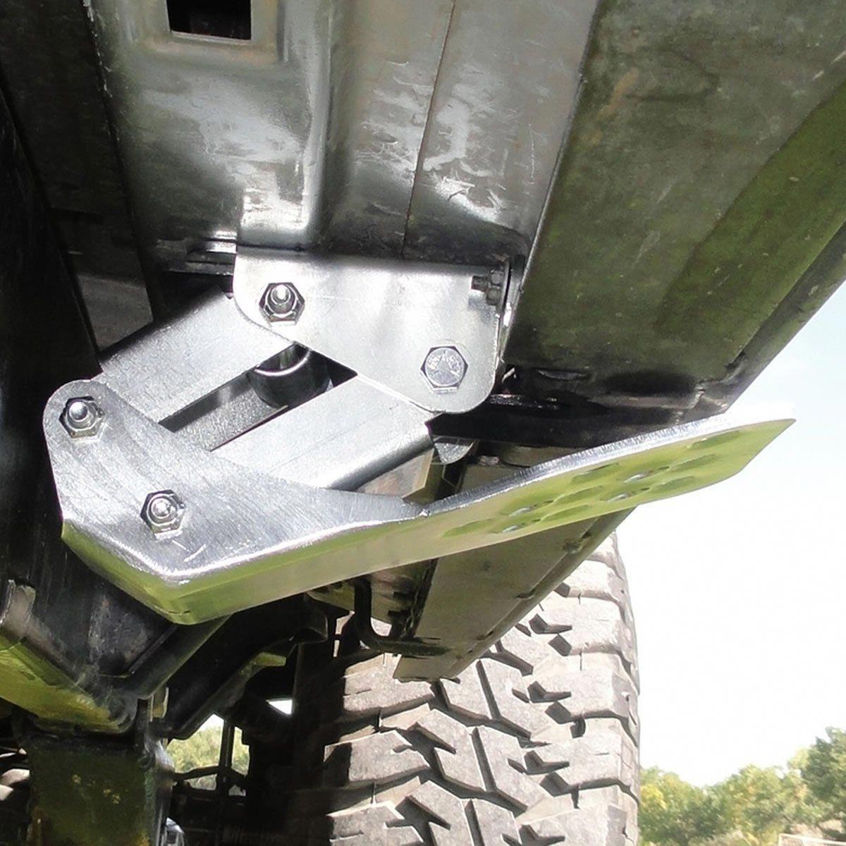 HideAStep Silver (JK) Front Door M.O.R.E. Trucks