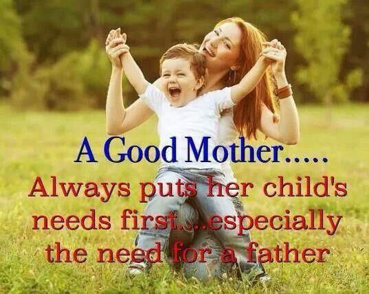 A Good Mother.....