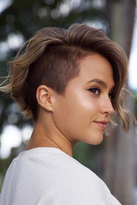 35 Fabulous Asymmetrical Haircut Ideas To Freshen Up Your Style Undercut Bob Haircut Asymmetrical Haircut Short Hair Styles
